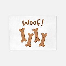 Woof! 5'x7'Area Rug
