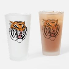 Tiger Face Drinking Glass