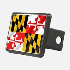 Flag of Maryland Hitch Cover