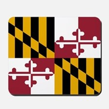 Flag Of Maryland Mousepad