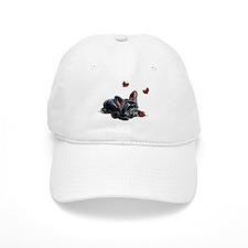 Black Frenchie Ladybug Baseball Baseball Baseball Cap
