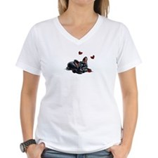 Black Frenchie Ladybug T-Shirt