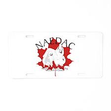 NAEDAC LOGO Aluminum License Plate