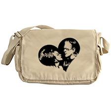 Frank and his Bride Messenger Bag