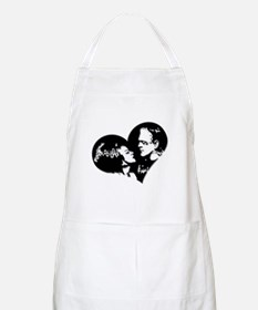 Frank and his Bride Apron