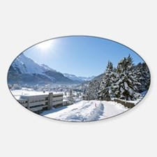 Winter in St. Moritz Decal