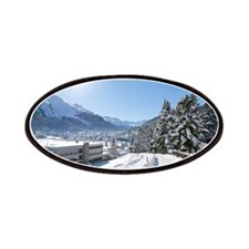 Winter in St. Moritz Patches