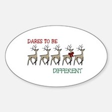 Dares To Be Different Decal