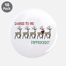 "Dares To Be Different 3.5"" Button (10 pack)"
