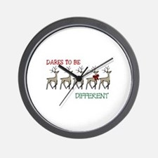 Dares To Be Different Wall Clock
