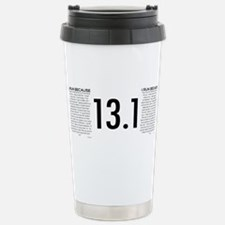 Cute Run 13.1 Travel Mug