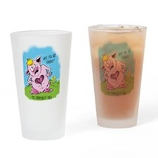 Forgiveness Troll Drinking Glass