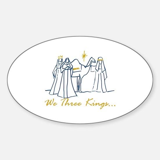 We Three Kings Decal