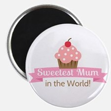 sweetest-mum-cupcake Magnets
