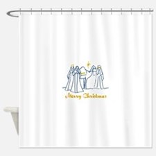 Merry Christmas Shower Curtain