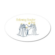 Following Yonder Star Wall Decal