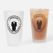 Anonymous is Legion Drinking Glass