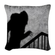 Nosferatu Woven Throw Pillow
