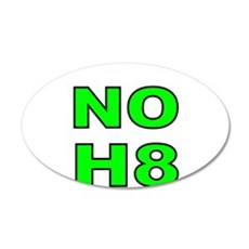 NO H8- 3 Wall Decal