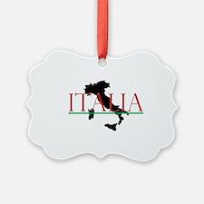Italia: Italian Boot Ornament