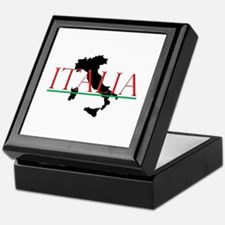 Italia: Italian Boot Keepsake Box