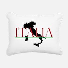 Italia: Italian Boot Rectangular Canvas Pillow