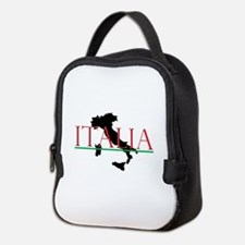 Italia: Italian Boot Neoprene Lunch Bag