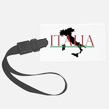 Italia: Italian Boot Luggage Tag