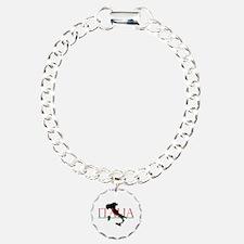 Italia: Italian Boot Charm Bracelet, One Charm