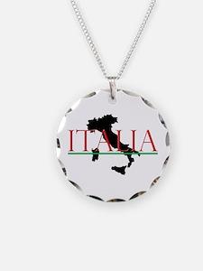 Italia: Italian Boot Necklace