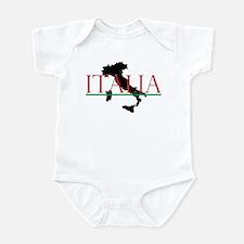 Italia: Italian Boot Infant Bodysuit