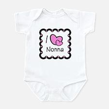 I Love Nonna Baby/Toddler bodysuits