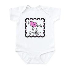I Love My Big Brother Baby bodysuits