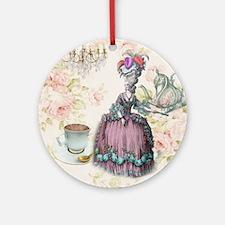marie antoinette paris floral tea party Ornament (