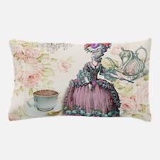 marie antoinette paris floral tea party Pillow Cas