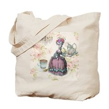 marie antoinette paris floral tea party Tote Bag