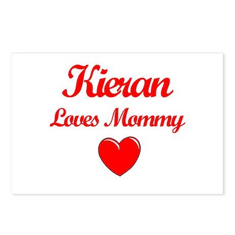 Kieran Loves Mommy Postcards (Package of 8)