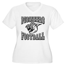 Pioneers Football Plus Size T-Shirt