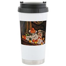 Cezanne - Fruit Bowl, P Travel Mug