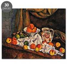 Cezanne - Fruit Bowl, Pitcher, and Fruit Puzzle