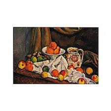 Cezanne - Fruit Bowl, Pitcher, an Rectangle Magnet