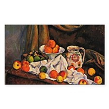 Cezanne - Fruit Bowl, Pitcher, Decal
