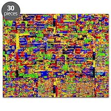 Digital noise Puzzle