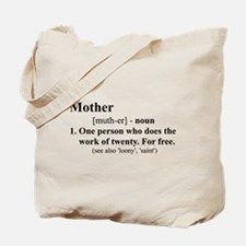 Definition of Mother Tote Bag