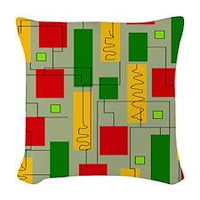 Eames Era 7 Woven Throw Pillow
