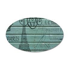 elegant paris Eiffel tower art Decal Wall Sticker