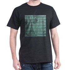 elegant paris Eiffel tower art T-Shirt