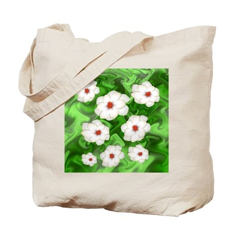 More Fractal Magnolias Tote Bag