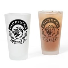 Pioneers Football Drinking Glass