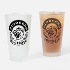 Pioneers Football Drinking Glass